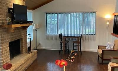 Living Room, Eckert Heights Apartments, 2