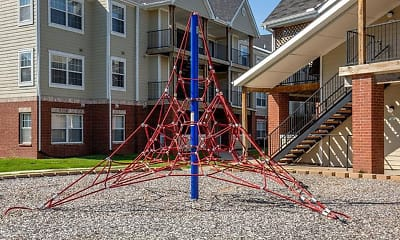 Playground, Village Woods Apartments, 0