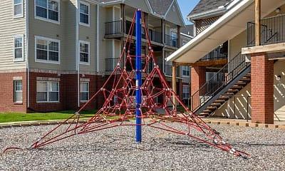 Playground, Village Woods Apartments, 0