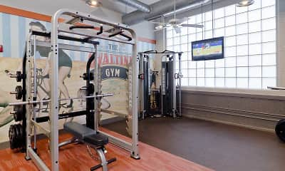 Fitness Weight Room, Ovaltine Court, 1