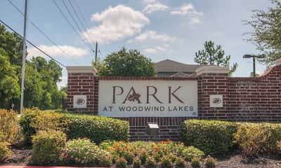 Community Signage, Park at Woodwind Lakes, 2