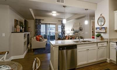 Kitchen, Steeplechase Apartments, 1