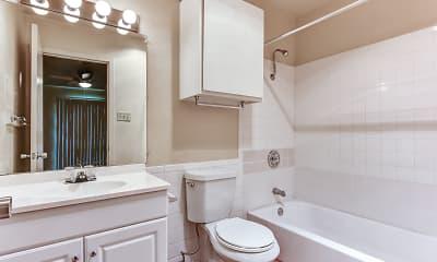 Bathroom, Brandywyne Apartments, 2