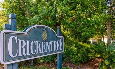 Community Signage, Crickentree, 2
