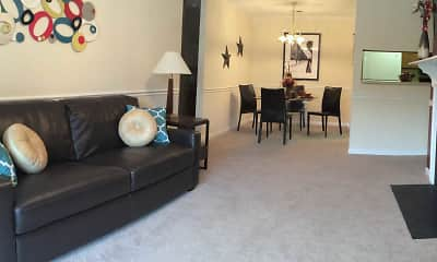 Living Room, Cobblestone Apartments, 1
