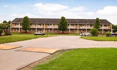 Building, Parkside Apartments, 1