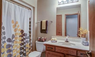 Bathroom, Capitol Apartments, 2