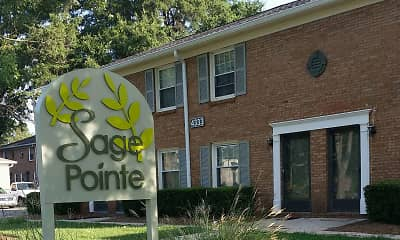 Community Signage, Sage Pointe Apartments & Townhomes, 1