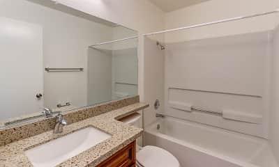 Bathroom, Arcadian Apartments, 2
