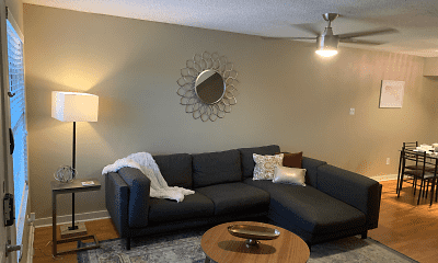 Living Room, 3401 at Red River, 1