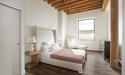 Bedroom, SilverBrick Lofts, 2