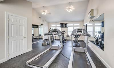 Fitness Weight Room, Freedom Crossing Apartments, 2