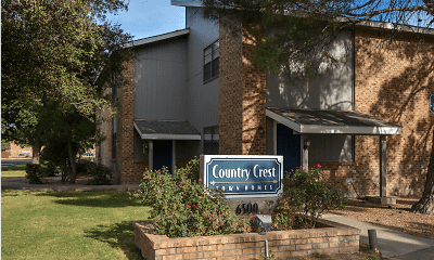 Community Signage, Country Crest Townhomes, 2