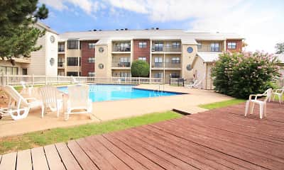 Pool, Eagle Crest Apartments, 2