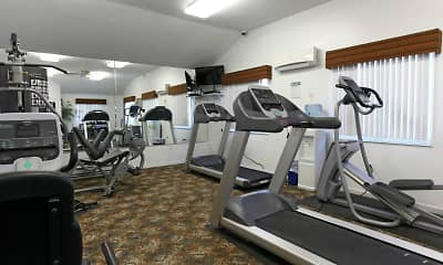 Fitness Weight Room, Wyndham Park, 1