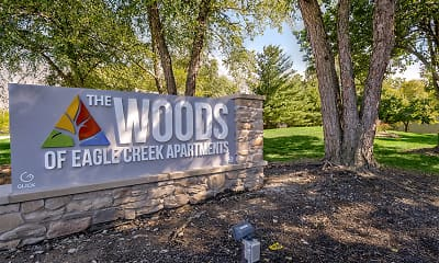 Community Signage, The Woods of Eagle Creek Apartments, 0