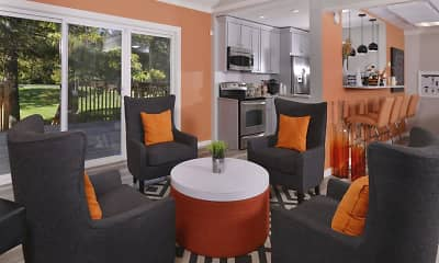 Living Room, Southport Crossing, 1