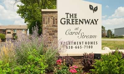 Community Signage, Greenway at Carol Stream, 2