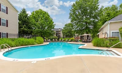 Pool, Saybrooke Apartments, 0
