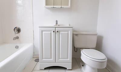 Bathroom, 5339-5345 S. Woodlawn, 2
