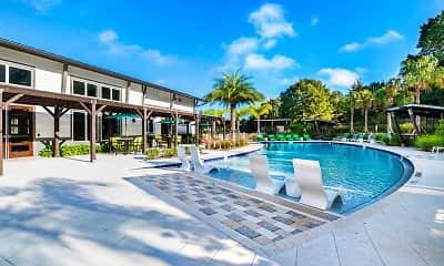 Pool, Cortland Reunion, 1