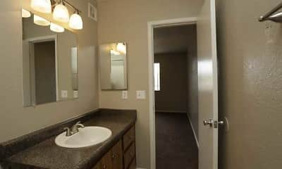 Bathroom, Gilbert Square, 2