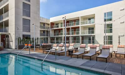Pool, Catherine Santa Monica, 1