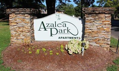 Community Signage, Azalea Park, 1