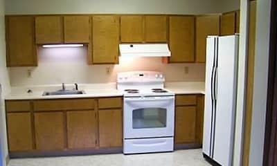 Kitchen, Church Street Apartments, 1