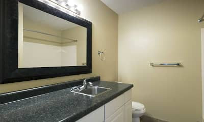 Bathroom, Evergreen Square, 2