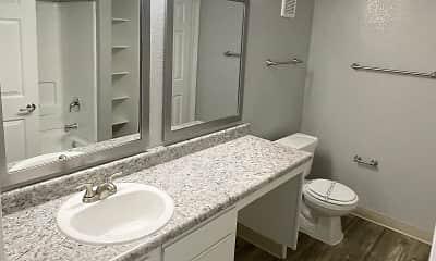 Bathroom, La Posada, 2