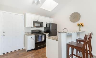Kitchen, Fleming Court Apartments, 1