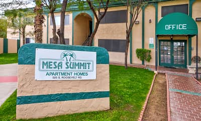 Community Signage, Mesa Summit, 2