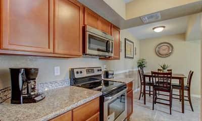 Kitchen, Cedar Creek Condominium Rentals, 1