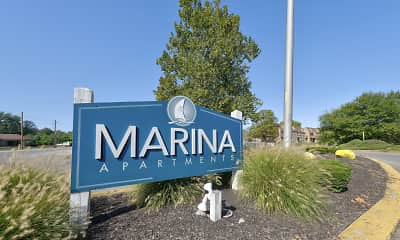 Community Signage, Lake Marina, 2