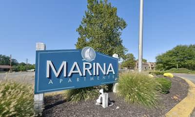 Community Signage, Lake Marina, 2