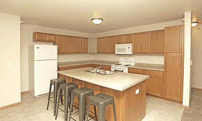 Kitchen, Stanley Square Apartments, 1