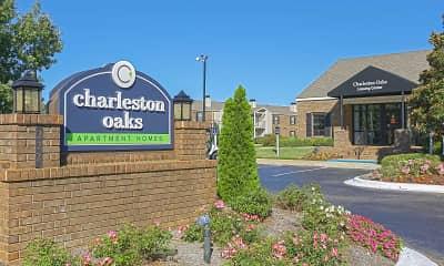 Community Signage, Charleston Oaks, 2