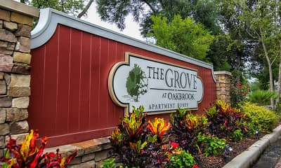 Community Signage, The Grove At Oakbrook, 2