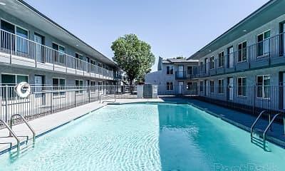 Pool, Park Mesa, 1