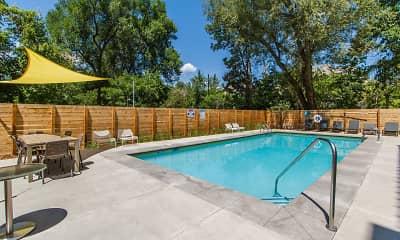 Pool, 2121 Canyon, 2