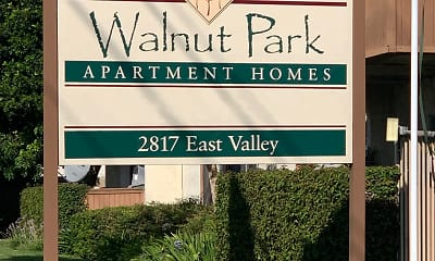 Community Signage, Walnut Park Apartment Homes, 2