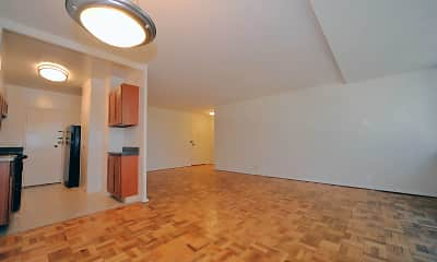 additional living space with parquet floors, The Rittenhouse, 1