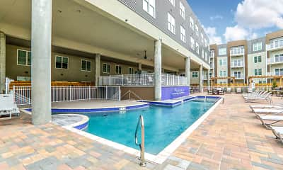 Pool, Parkway Apartments, 1
