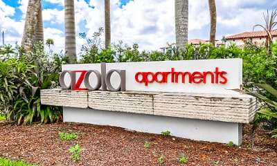Community Signage, Azola West Palm, 2