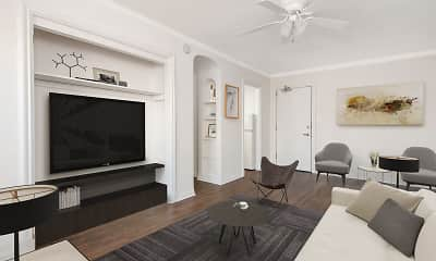 Living Room, 515 W. Briar, 1