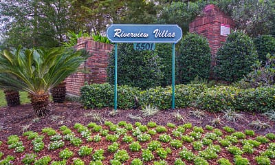 Community Signage, Riverview Villa, 1
