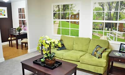 Living Room, Melrose Station, 1