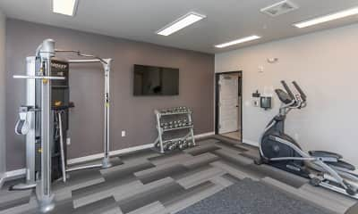 Fitness Weight Room, Flats on 21, 2
