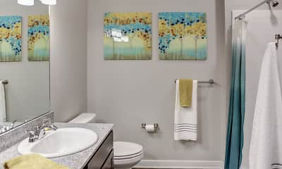 Bathroom, Aspen Ridge, 2